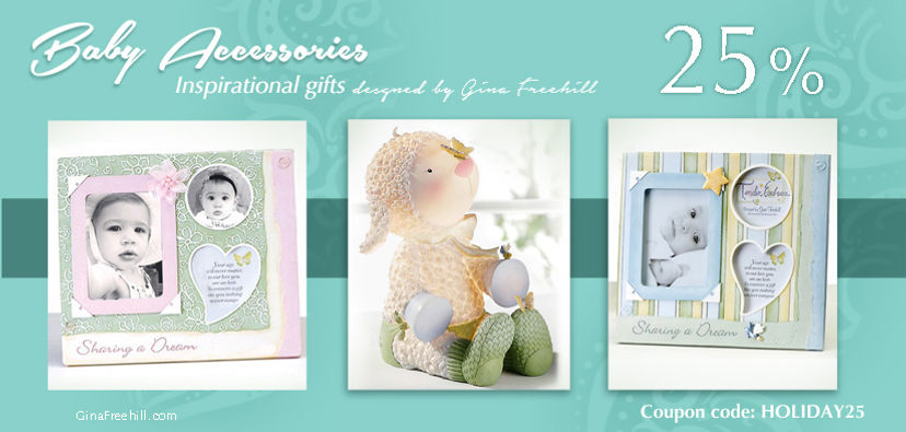 10% off Gina Freehill baby product