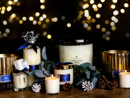 Christmas has arrived at Lower Lodge Candles!
