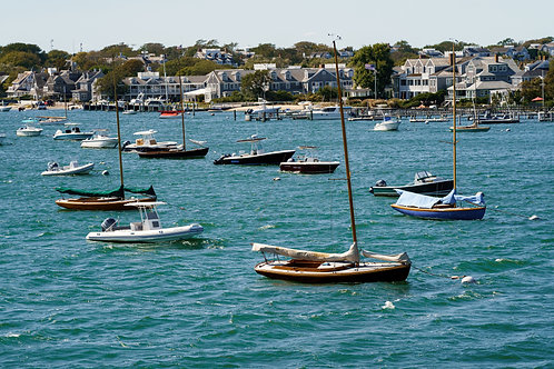 The Harbor of Nantucket