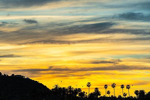 Honda Valley Sunset