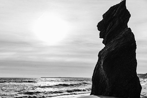 Cliff at Lucy Vincent Beach