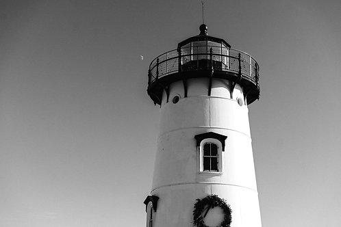 Lighthouse Beach BW