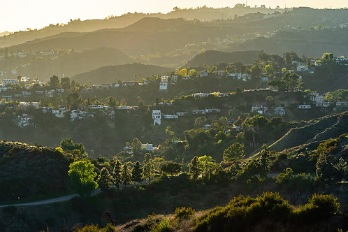 LA Hills. The light
