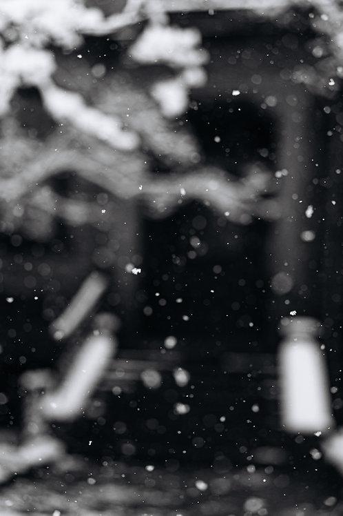 Snow. The minimalism