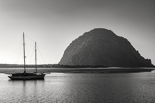 Morro Rock and The ship