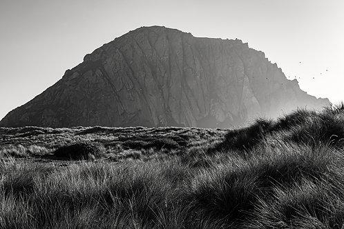 Morro Rock. Black and White