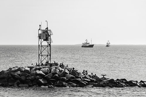 On the way to Nantucket BW