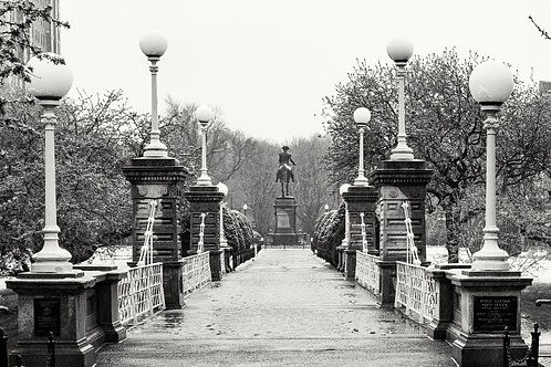 The bridge - BW