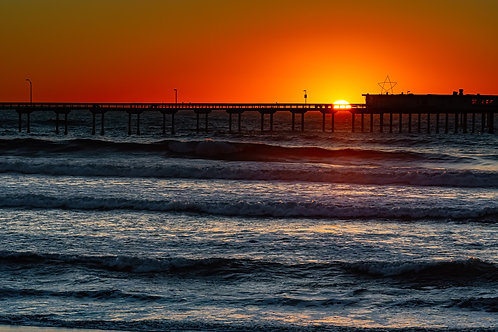 Pacific Beach Pier Sunset 2