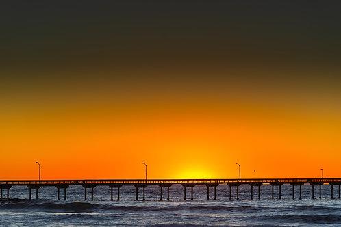 Pacific Beach Pier Sunset 3