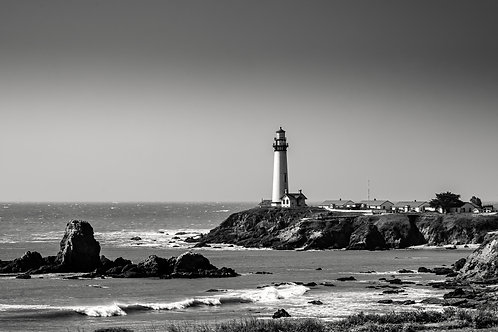 Pigeon Point Lighthouse panorama