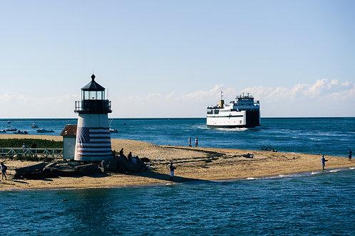 Arriving to Nantucket