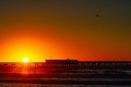 Pacific Beach Pier Sunset 1
