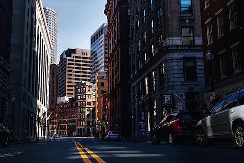 The light in Boston