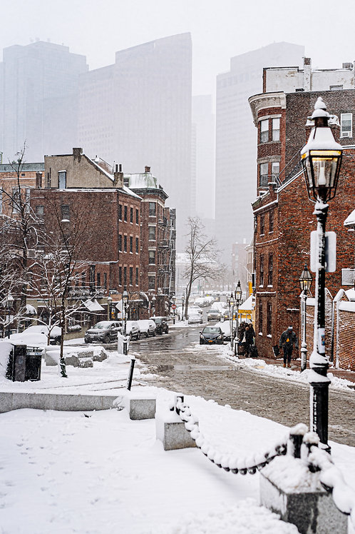 Little Italy Snowy Views