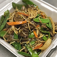 Peapod Beef with Beansprouts
