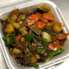 Pineapple Beef with Veggies