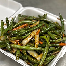Green Beans with Black Bean Sauce