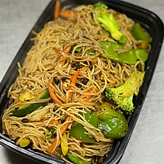 Cantonese Black Bean Vegetable Mei Fun