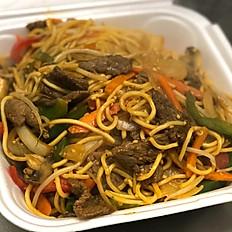 Mongolian Beef Style Lo Mein