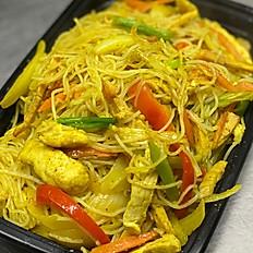 Malay Mei Fun (Singapore Noodles)