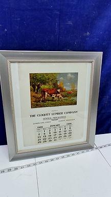 1906 Advertising Calendar - The Cloquet Lumber Co
