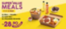 Santan - Value Meal - Bundle For 2 - Kio