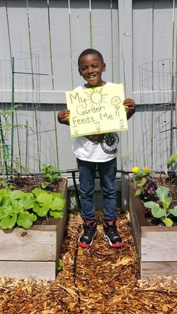 """My Garden Feeds Me"" by Noah"