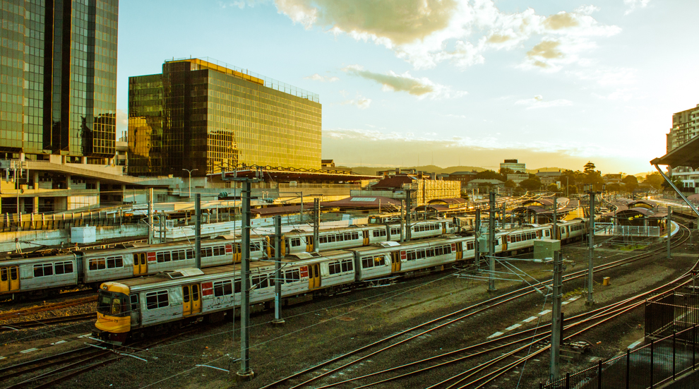 Roma Street Train station 2013