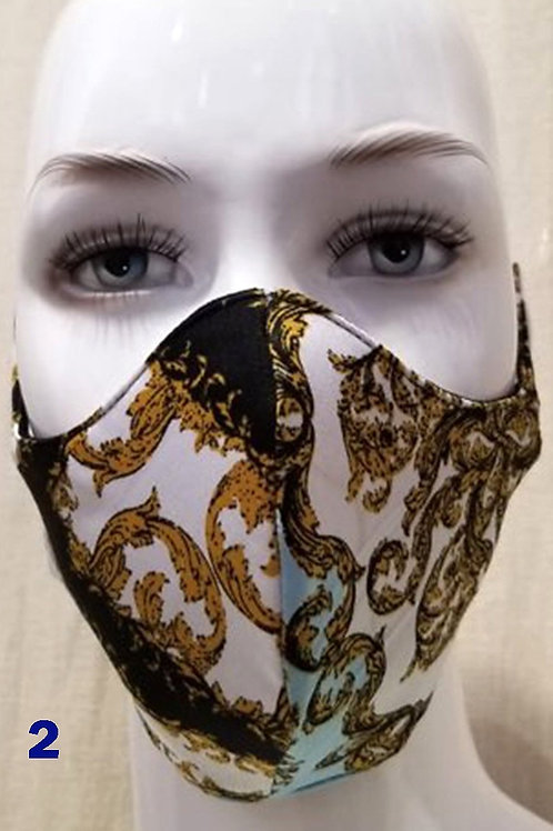 Multi Color Fashion Mask