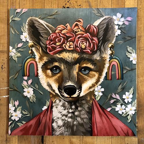 "Frida Foxlo - 10""x 10"" art print"