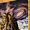 """Thumbnail: Joyous Space Ride - 10""""x 10"""" art print"""