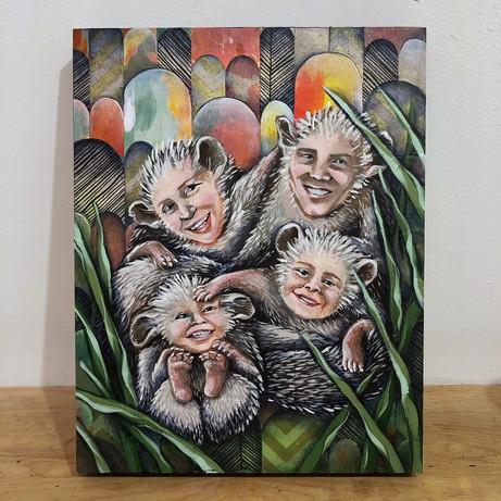 Hedgehog Familly