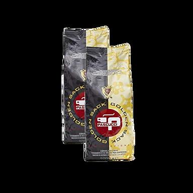 Two Pascucci golden sack 1 Kg