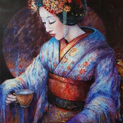 Geisha tea ritual