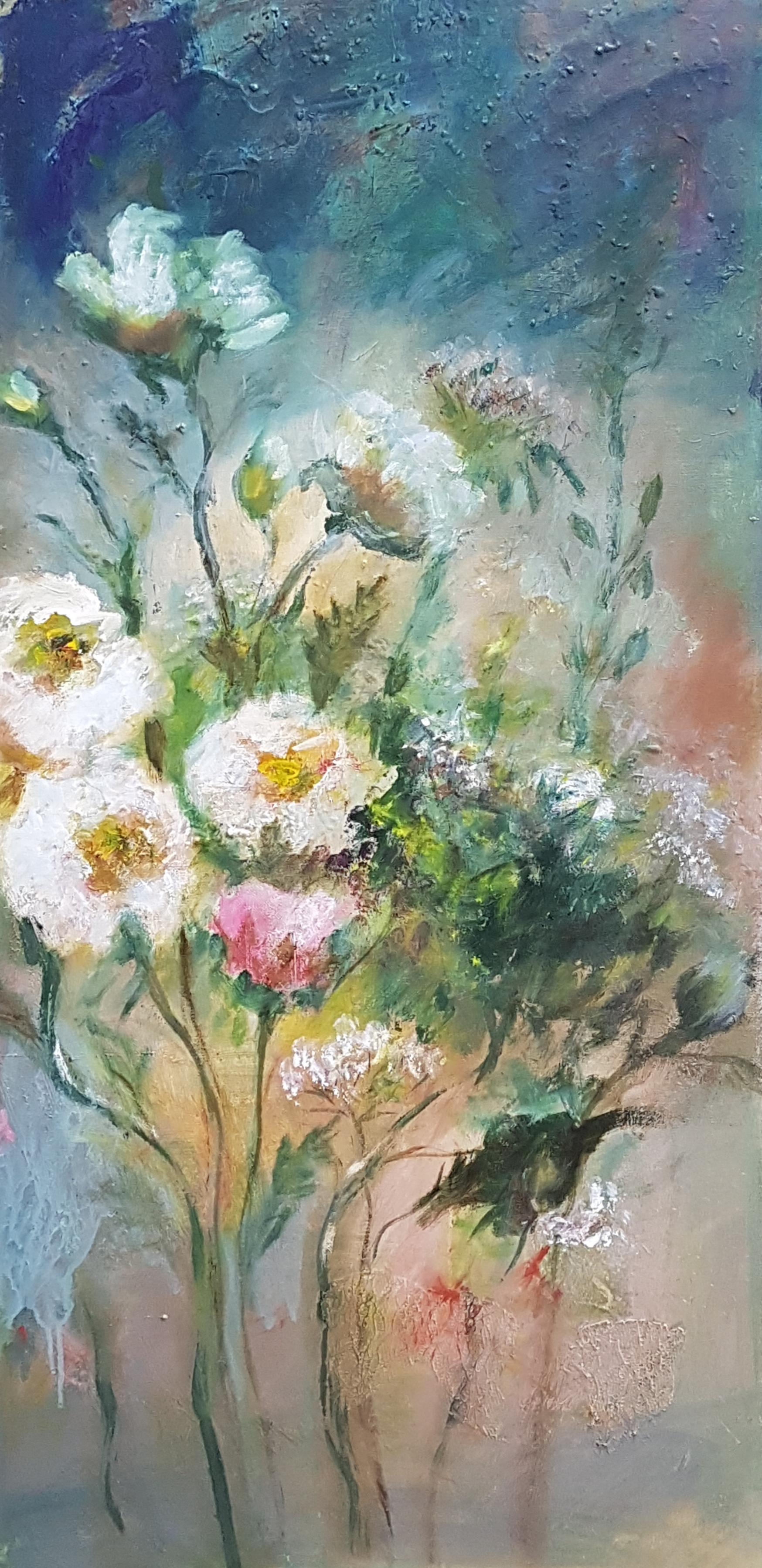 Wild flowers white