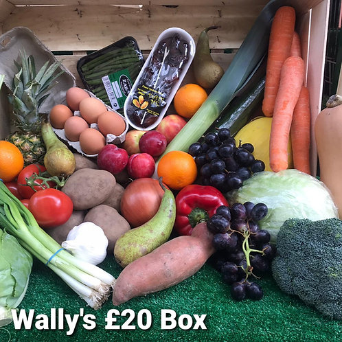 Wally's £20 Fruit & Veg