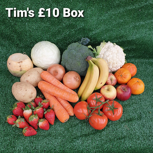 Tim's £10 Fruit & Veg