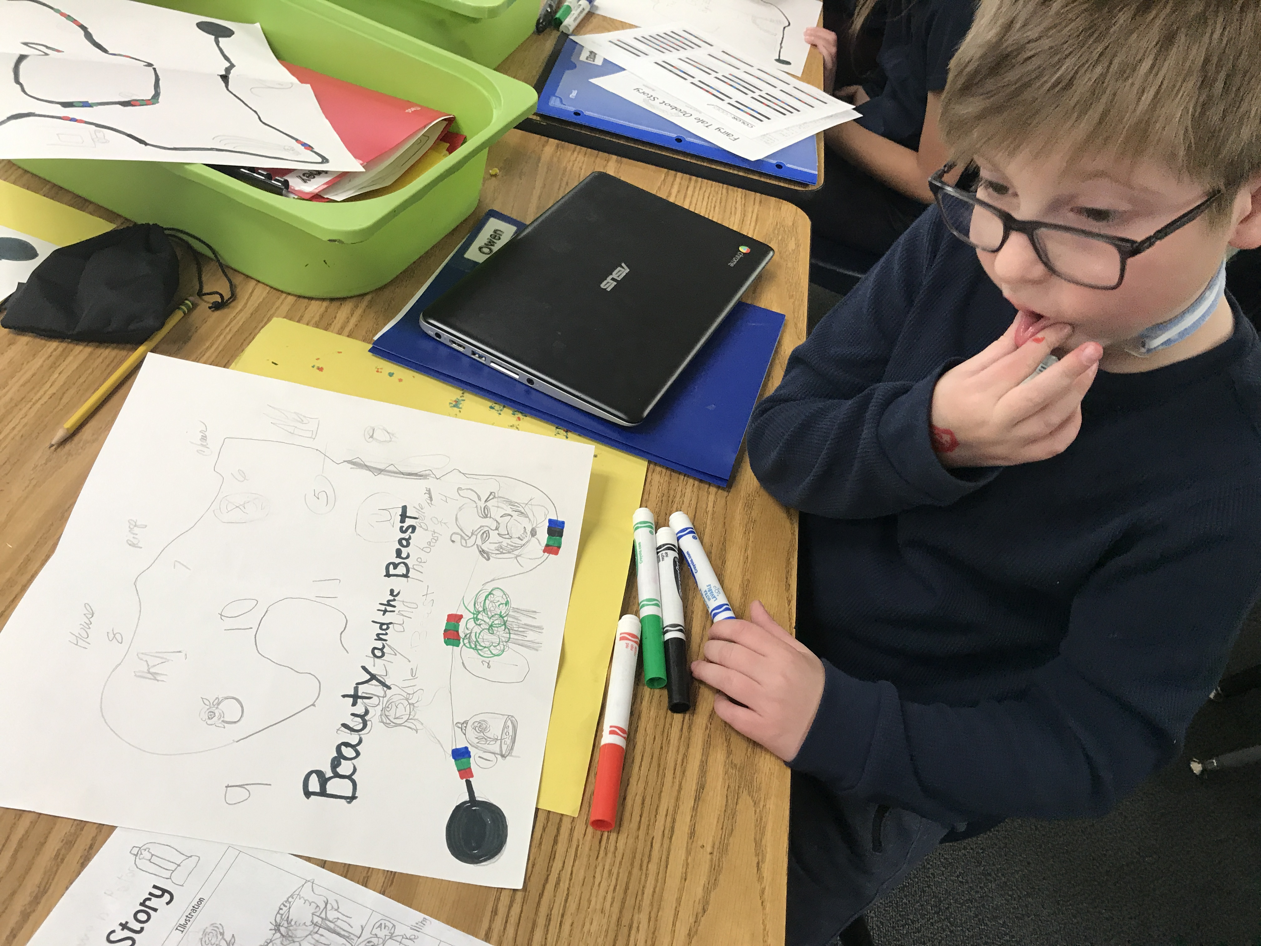 Ozobots - 3rd Grade