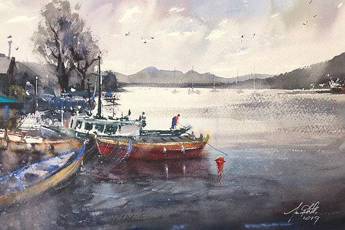 Franklin Tasmania Original Watercolour Painting