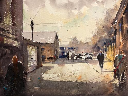 Cooks Hill Laneway