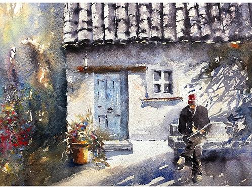 Charles Reid in France