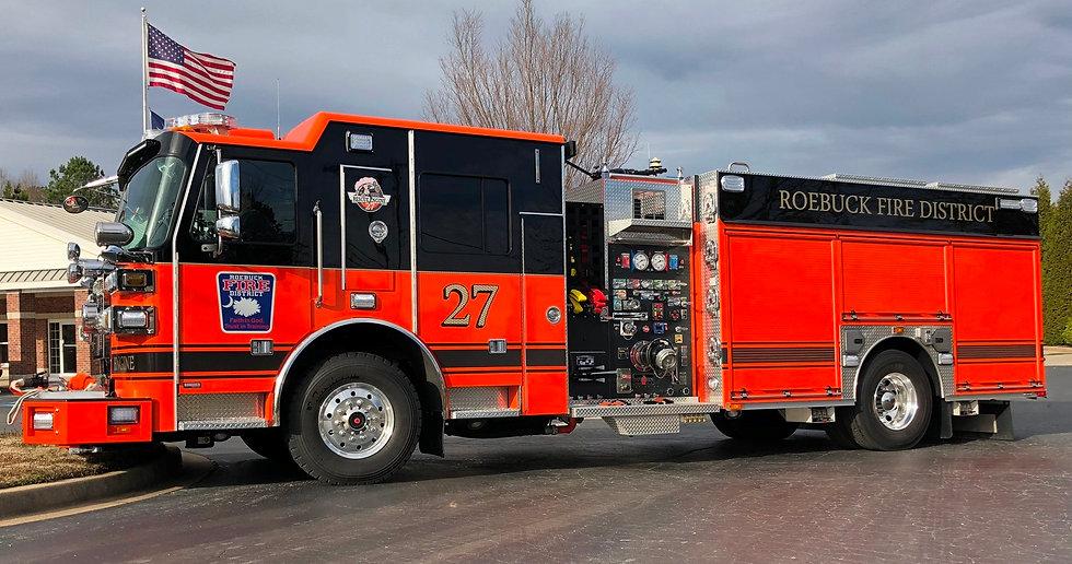 ROEBUCK FIRE DISTRICT