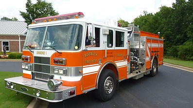 roebuck fire engine