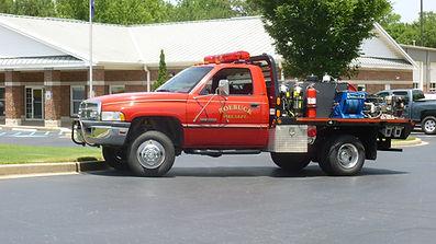 roebuck fire truck