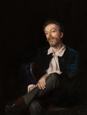 Dimitri KOUZNETZOV (1852-1924) -  Portrait d'Homme 