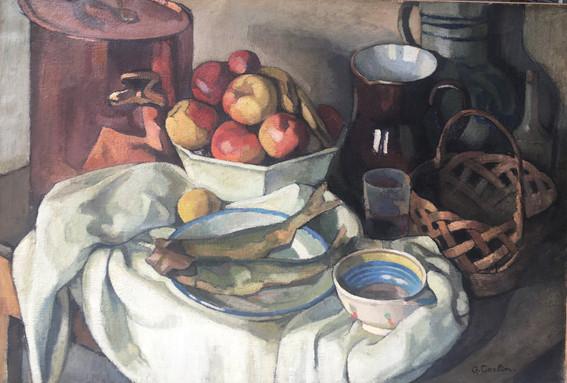 Gustave Auguste CORLIN (1875-1970) - Nature Morte