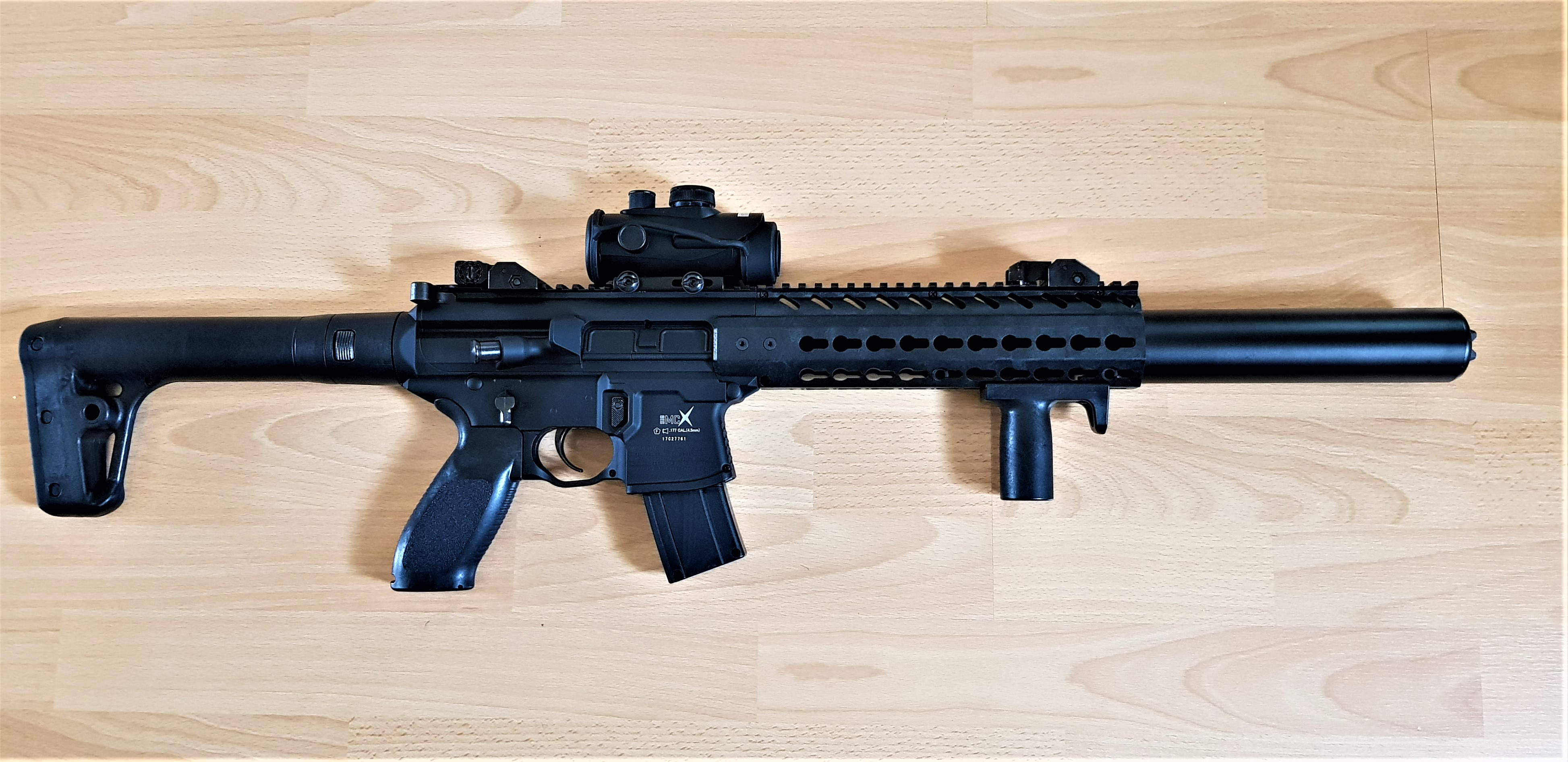 SIG MCX (Gas Blow Blow-back)