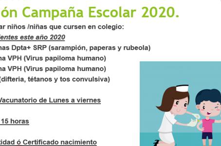 Campaña Vacunación 2020