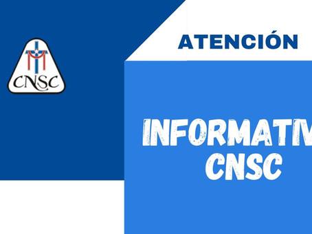 INFORMATIVO CNSC